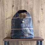 ◆**M.Yさま専用**<先行予約>◆チェンマイ ナガ族刺繍の大きな〇ボタンがついたバッグ ④