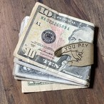 Button Works x VENICE DESIGN8  ボタンワークス You Pay Money Clip