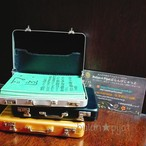 オラクルカード 龍体文字カード70枚と ハードケース 旅行カバン風ハードケース付き