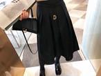 Dリングスカート スカート フレアスカート 韓国ファッション