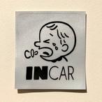 BABY IN CAR リフレクター(反射)ステッカー