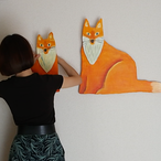 Fox craft art