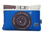 クッション / Analogic Blue Cushion 45×32cm (アナロジック) / WOOUF! BARCELONA (ウーフバルセロナ)