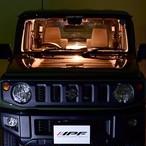 【新型ジムニー用セット】IPF 暖色系LEDルームランプバルブ(プレートルームランプ ウォームホワイト)