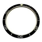 プラネットオーシャンタイプ(黒)スラント ベゼルインサート BZI-SPB