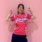 Tシャツ(ピンク・サイドライン)