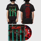 【 予約 】『殺しの呪文』【 SET G 】-  7inch vinyl record + download code + Tシャツ黒/ The Conjuring SET G