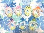 ハワイアンリボンレイ(レシピなし)【ピカケの入ったプルメリアストラップ キット】