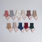 Condor Rib Short Socks(全11色/0(10-12cm),2(12-14.5cm))