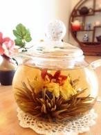 【中国茶・工芸茶】オリジナル高級品 新芽工芸茶  テンタンニォウ 5粒
