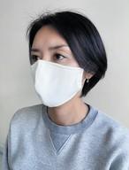 【ホワイト】和紙100%・国産洗えるマスク