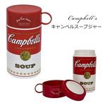 【即納】キャンベルデザイン コップ付きスープジャー キャンベル スープジャー z-013