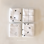 hand towel【monotone4PC】