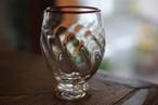 ◆森永豊◆ モリナ透明硝子工房 <吹き硝子>◆◆モールゴブレット・赤◆◆