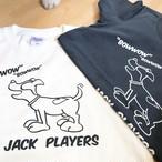 残りわずか【150/M/L】JACK PLAYERS オリジナルTシャツ アイボリー