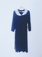 mother dress Navy