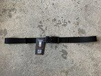 YETI DESIGN MAGNET BELT BLACK ミディアム105cm