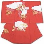 お宮参りお祝い着(初着) 女児 7-350帽子セットプレゼント