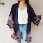 Chiffon Kimono Cardigan C《NVY》18383085-c
