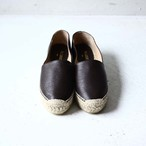 【ALLEGE】 LEATHER SLIP-ON