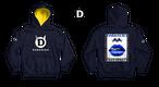 DARKHERO hoodie【hood yellow】