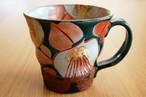 マグカップ 釉彩椿