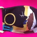 レディースファッションマスク  アフリカ