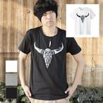 ボーンT-shirt モノクロ(メンズ)
