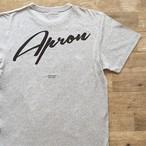 【ラスト1】Apron Records × Jazzy Sport Tシャツ/グレー