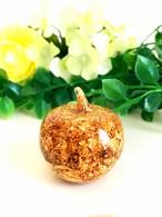 金のりんごオルゴナイト