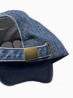 ローキャップ 【ダークブルーデニム】 帽子 キャップ サムネイル