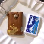 革のミンティアケース・ミニ 金の兎