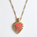 """NINA RICCI"" black necklace[n-275]ヴィンテージネックレス"