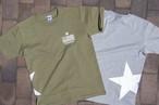 【Star Logo T-shirt】Khaki