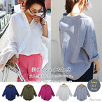 Glow Loose Fit Shirt 1SS006-18 |インスタでも話題の海外セレブ系レディースファッション Carpe Diem