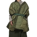 LIOT Poncho made from US ARMY Quilting Liner Pants