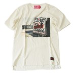 EFFECTEN/エフェクテン collaboration L.A phot Tee White