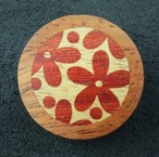 wooden inlaid charm IB-016-CA