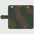 陸上自衛隊第2師団第2戦車連隊第1中隊手帳型スマホケース
