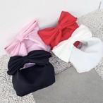 ビッグリボンバッグ ハンドバッグ&ショルダーバッグ2WAY 全4色