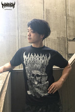 Death Marrion Dry Silky Touch Tee (ブラック×シルバー)