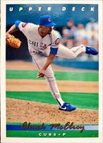MLBカード 93UPPERDECK Chuck Mc Elroy #130 CUBS