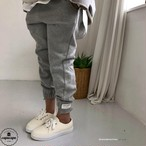 «予約» dressmonster half banding jogger pants 3colors