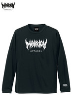 MARRION APPAREL Logo Dry Silky Touch Tee LONGSLEEVE (3カラー)