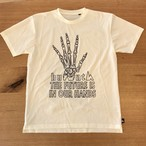 hs-37 ATHLETICS 『FUTURE』 T-SHIRT ・オフホワイト