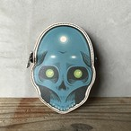 DFA: ESPY BLUE SKULL COIN CASE