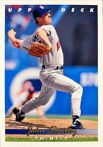 MLBカード 93UPPERDECK John Smiley #268 TWINS