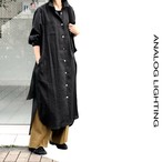 Air Coat Dress/BLACK