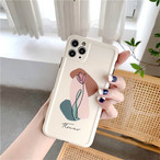 Beautiful art flower iphone case