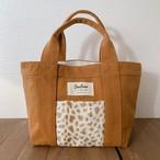 Tote bag S - Camel / Cheetah